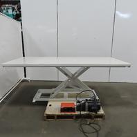 "Southworth LM1 1000LB Hydraulic Scissor Lift Table 96x42"" 3-36"" Height 115V 1Ph"