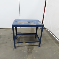 "1/2"" Blanchard Ground Top 30""x20""x29"" Steel Machine Base Layout Work Bench Table"