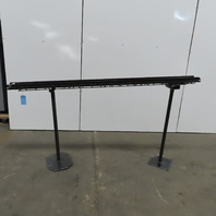 """Small Parts Gravity Roller Conveyor 5"""" Wide x 84"""" Long Incline 39"""" to 43"""""""