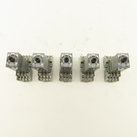 Idec GT5Y-4SN On Delay Timing Relay 0.1s-60 Min Range With Sockets Lot Of 5
