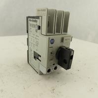 Allen Bradley 140M-C2E-B40 600V 4A Circuit Breaker Manual Motor Starter