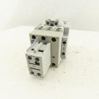 Allen Bradley 100-C43 00 600V 30Hp 3Ph Contactor Relay 120V Coil