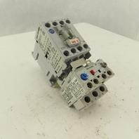Allen Bradley 193-EA1DB 600V 15Hp 3Ph Contactor Relay 120V Coil 2.9A Overload