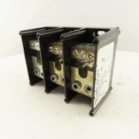 Ferraz Shawmut 67543 600V 3 Pole (2) 4/0 -#6 Wire Power Distribution Block