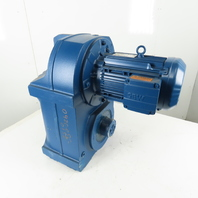 SEW-EURODRIVE FH97/G DRN100LM4 Parallel Shaft Helical Gear Motor 112.9:1 Ratio