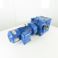 Sumitomo LHYMS1-2B120-AVY1-B305 Buddy Box Gear Motor 305:1 Ratio 460V 3Ph