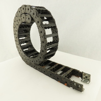 """KS 0475M Power Track Energy Chain Cable Guide I.D. 3""""x1"""" 70"""" Long"""