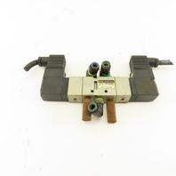 SMC VF3330 5/3 Position Pneumatic Valve Double Solenoid 24V Coil
