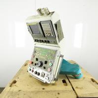 Fanuc 18i-TB V740T CNC Machine Operator Interface Control Switch Board Wireway