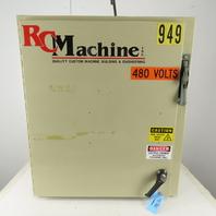 Saginaw Controls 36 x 31 x 12 Type 12 Electrical Enclosure 30A 600VAC Disconnect