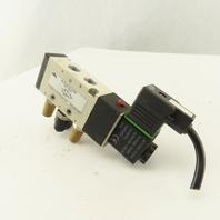 Nitra Pneumatics AVS-5312-120A 5/2 Position Single Solenoid Air Valve 110V Coil