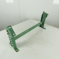 """30"""" Wide Incline Flat Bed Conveyor Leg Floor Support Approx. 13-19"""" Height"""