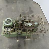 Orsta Hydraulics 22 Gallon Hydraulic Power Unit 1.1Kw 220/380V 50Hz 3Ph W/Valves