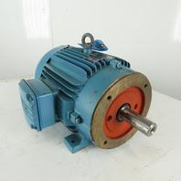 WEG 01536EP3E215T 15Hp 3500RPM 3Ph 208-230/460V 215T Severe Duty AC Motor
