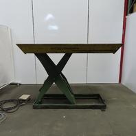 Southworth LS4-48 4000Lb Hydraulic Scissor Lift 80x39-1/2 Table 208-230/460V 3Ph