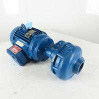 "Gusher 11019A-SE-A-6 5Hp 3480RPM 3Ph 460/380V 50/60Hz 1-1/4 x 1"" Motor Pump"