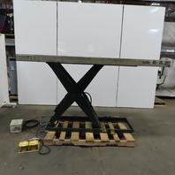 """Southworth LS2-48 2000Lb Hydraulic Scissor Lift Table 96""""x42"""" 208-230/460V 3Ph"""