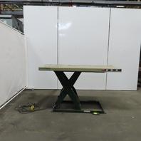 "Southworth LS2-36 2000Lb Hydraulic Scissor Lift Table 72""x30"" 115V Single Phase"