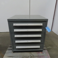 "5 Drawer Industrial Parts Tool Storage Shop Cabinet 30""W x 28""D x 33-1/4""H"