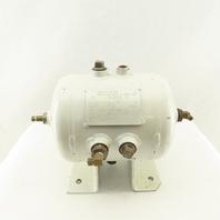 2 Gallon 200 PSI 7 Port Compressed Air Receiver Storage Tank