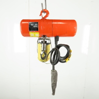 CM Lodestar Model B2 1/4 Ton Electric Chain Hoist 10' Lift 2 Speed 16/5 FPM 480V