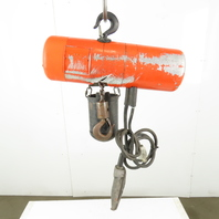 CM Lodestar  B 1/4 Ton Electric Chain Hoist 10' Lift 16FPM 115V Single Phase 1Ph