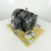 US Motors HD10P1E 10Hp 3515RPM 3Ph 230/460V 215T Hostile Duty AC Motor