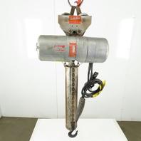 Cm Lodestar L Electric Chain Hoist 1 Ton 16FPM  20' Lift 208-230/460V W/Trolley