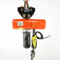 CM Lodestar F-2 1/2 Ton Electric Chain Hoist 2 Speed 5/16 FPM 460V 3Ph 14 Lift