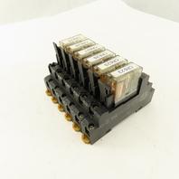 Allen Bradley 700-HN121 Relay Module Socket 24VDC Lot Of 6