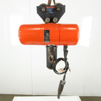 CM Lodestar Model L Electric Chain Hoist 1 Ton 16FPM 10' Lift 208-230/460V 3Ph