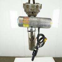 CM Lodestar Model E 1/2 Ton Electric Chain Hoist 13' Lift 8FPM 208-230/460V 3Ph