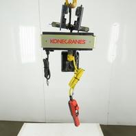 Kone Cranes 1/2 Ton Electric hoist 11' Lift 2 Speed 32/8 FPM 480V 3Ph
