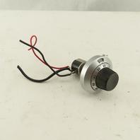 Clarostat 10Kohm Potentiometer With Spectrol Multidial Model 21