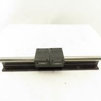 "Thomson 3/4"" Linear Guide Slide Shaft Rod Rail 14"" Long With Bearings"