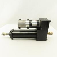 "2232-MT3343 AG-2-5-B 4.18A Servo Electromechanical Actuator 5"" Stoke 30oz/in"