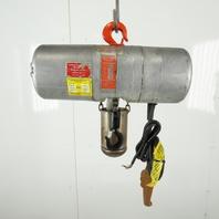 CM Lode Star Model L Electric Chain Hoist 1 Ton 16FPM 10' Lift 208-230/460V 3Ph