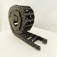 """KS 0475M Power Track Energy Chain Cable Guide I.D. 4""""x1"""" 72"""" Long"""