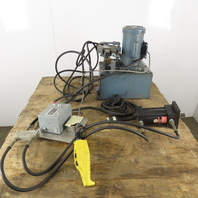 Model B1 Hydraulic Power Unit 5 Gal. 1/2Hp 115/230V Single Phase W/Hand Pendent