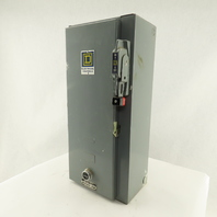 Square D Class 8538 SCG-14 Combination Motor Starter Disconnect Enclosure Only