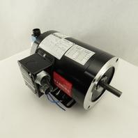Marathon FVH 056H17T5301B .5Hp 1735/3510RPM 460V Dual Speed Motor W/ Encoder