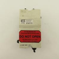 Shendian Electric 600V 10Hp 3Ph Full Voltage Starter DOL 230V Coil 8.5A Trip