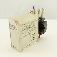 Electromatic SV 190 115 NPN Sensing Dual Level Relay 11 pin W/Mounting Base 115V