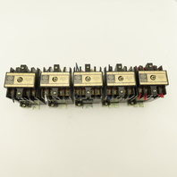 General Electric CR120B040 Ser A Magnetic Contactor Relay W/120V Coil Lot of 5