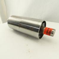 """Hytrol WA-015334 Steel Crowned 4"""" Diameter Tail Pulley Drum Weld-Integrl Tail"""