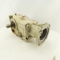 Gear Box Speed Reducer 166.59:1 Ratio 56C Face Input