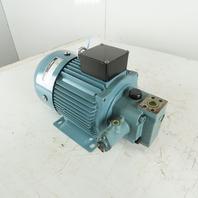 Nachi UVN-1A-1A4-2.2-4-11 2.2kW 1720RPM 3Ph 200/220V 3Ph AC Hydraulic Pump