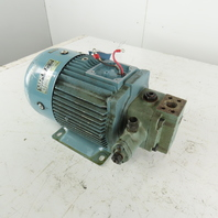 Nachi TWF4916BF 2.2kW 1720RPM 3Ph 200/220V Hydraulic Pump