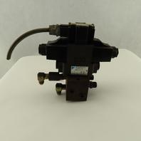 Daikin KSO-G02-2CA-10-N 5/3 Position Double Solenoid Regulated Valve 100V Coil