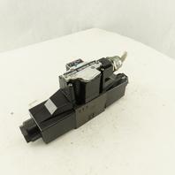 Daikin KSO-G02-2CA-10-N 5/3 Position Double Solenoid 4 Valve 100V Coil